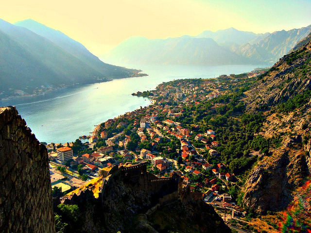 | ♕ |  Ancient Roman Fortress - WHS in Kotor, Montenegro  | by © Ferry Vermeer