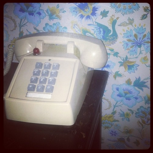 this phone isnt scary at all  (Taken with Instagram)