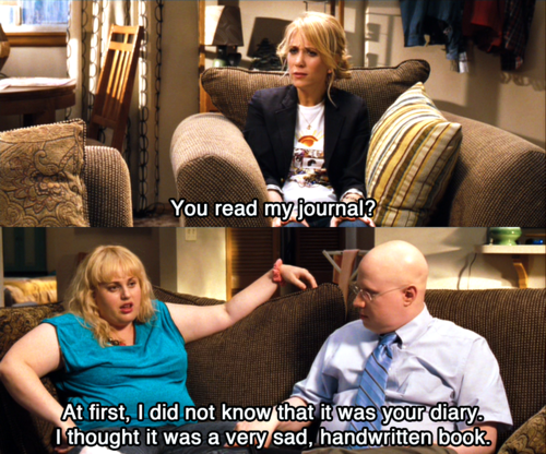caylamichellecannon:  Rebel Wilson was hilarious in Bridesmaids. I'm looking forward to seeing more from her.