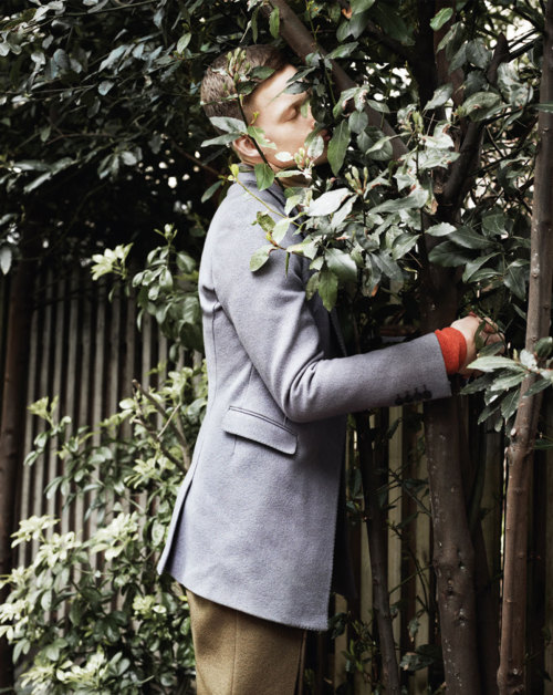 "midnight-charm:  ""The Garden"" Bastian Thiery by Paul Wetherell for 10 Men Autumn 2012"