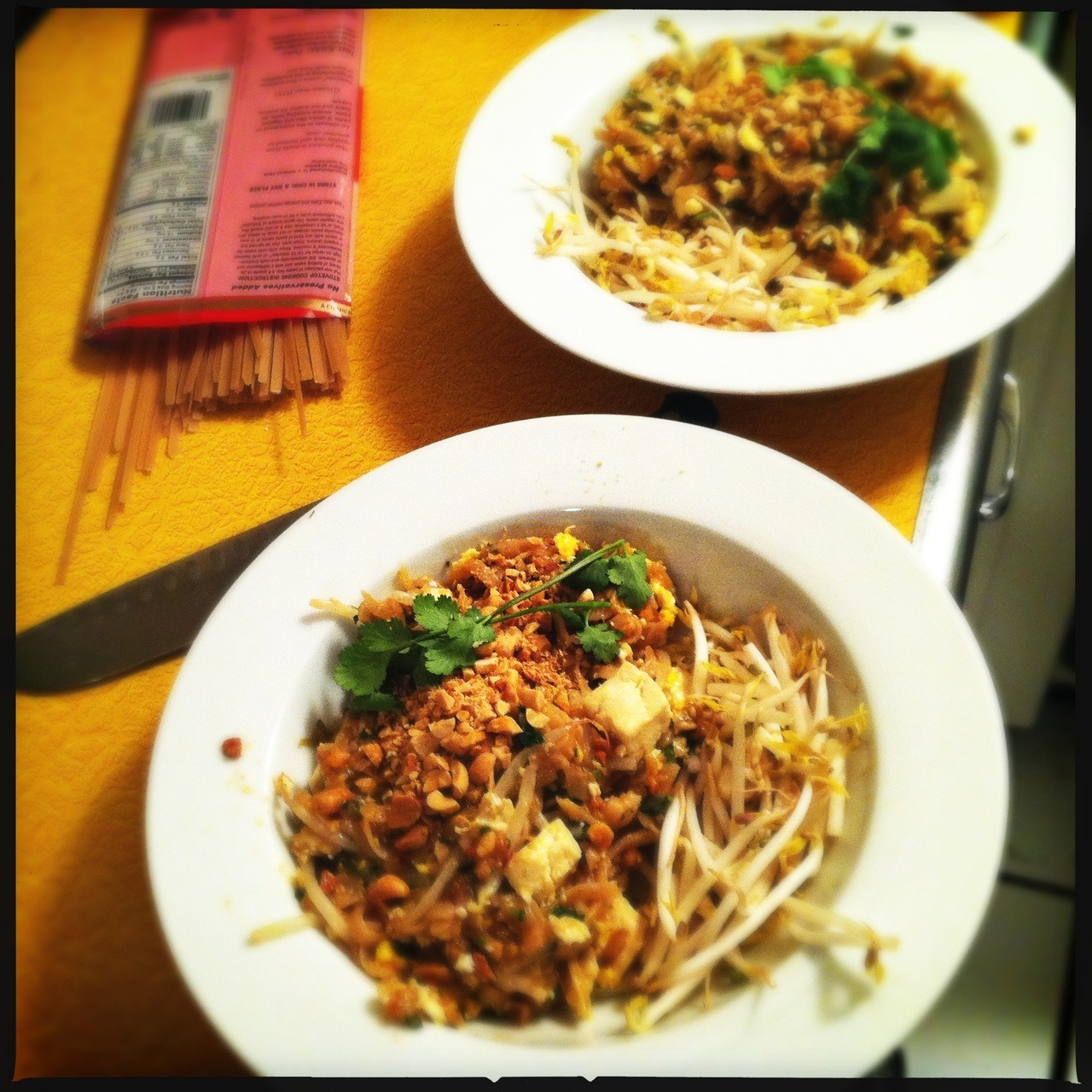 I Made Pad Thai.