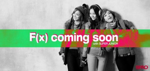 forsongqian:  [NEWS] 120822 SPAO Facebook Update - f(x) and Super Junior Is coming soon!!  cr: worldwidelfs via affxtionINA