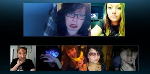 skypeconvos:  WE WERE ALL ONLINE / 8.21.12