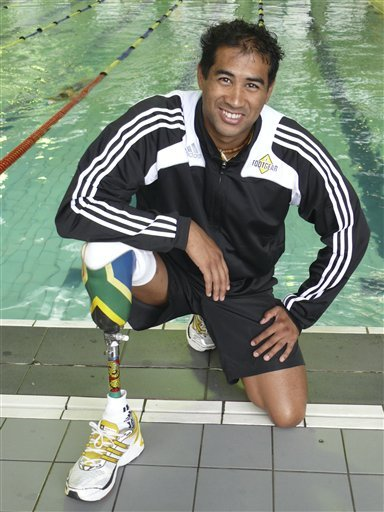 "dynamicafrica:  AFRICA AT THE PARALYMPICS: South African swimmer Achmat Hassiem, who lost a leg in a shark attack in 2006, has told the BBC he hopes to win a medal at the Paralympic Games. He said he had been training hard for the 100m butterfly and the 100m and 400m freestyle races. ""I'm in the top three in the world for my event. What more can I ask for?"" he said. Hassiem's leg was severed by a shark at Muizenburg beach, near Cape Town, after he drew it away from his brother. (read more)"