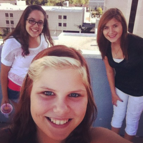 #me and @itsjustbrittanyy and @katie_rosee22  #downtown#today (Taken with Instagram)