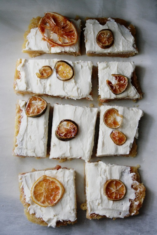 Cream-Cheese Lemon Squares