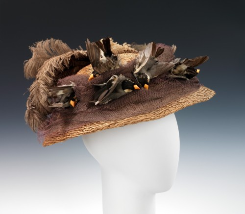 Hat ca. 1890 From the Metropolitan Museum of Art