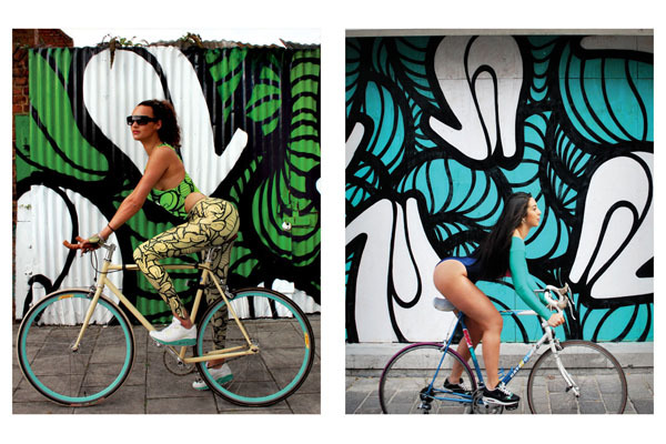GIRLS ON BIKES by Insa