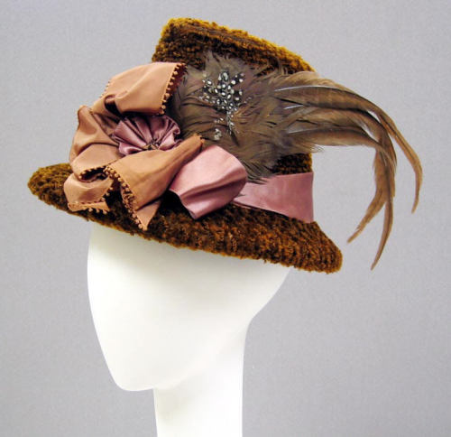 Hat, 1870's From the Metropolitan Museum of Art