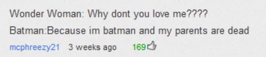 The most accurate comment I have ever seen.