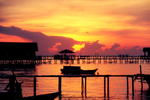 SUBMISSION: chachamaricha. Thank you. Sunrise at Derawan Island, East Borneo, Indonesia.