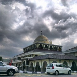  #mosque (Taken with Instagram at Masjid Besar Bentong)