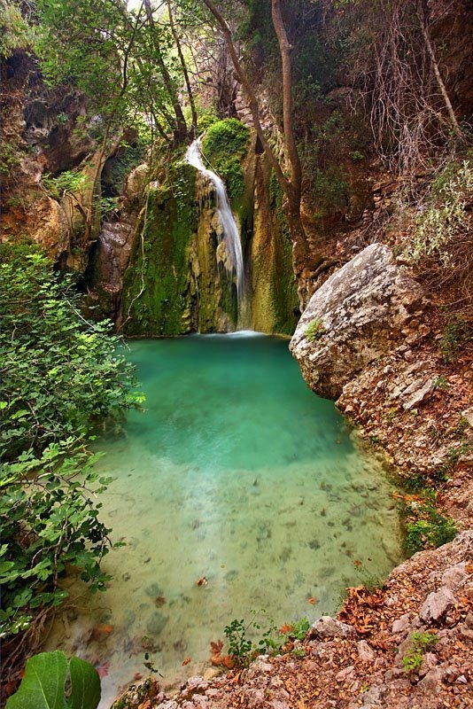 allaboutgreece:  Kythira Island, Waterfall in Greece