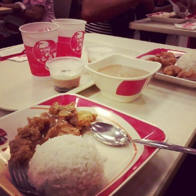 late lunch with bf. (Taken with Instagram)