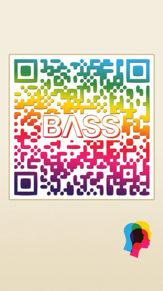 QR code for Bass Entertainment - poster + random advertisements