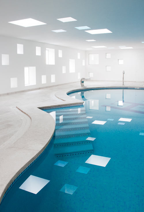 cjwho:  Hotel Pool and Spa by A2arquitectos