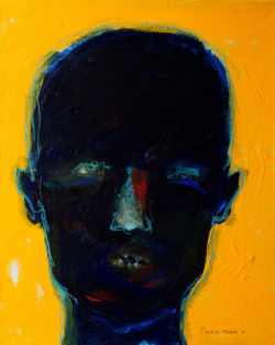 palmofmyhands:  wanjikunjoroge:  Face IV 2012 SOLD  by Beatrice Wanjiku