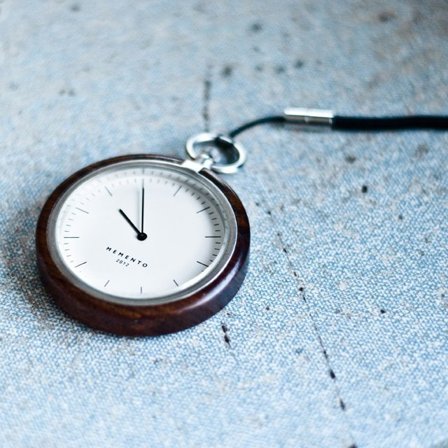 quiet-design:  Memento Pocket Watch