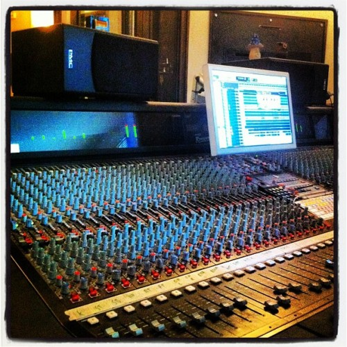 Now that's a desk!  (Taken with Instagram at Cottage Road Studio)