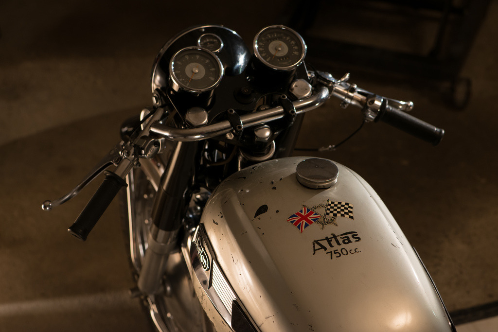 mototerra:  Norton Atlas…