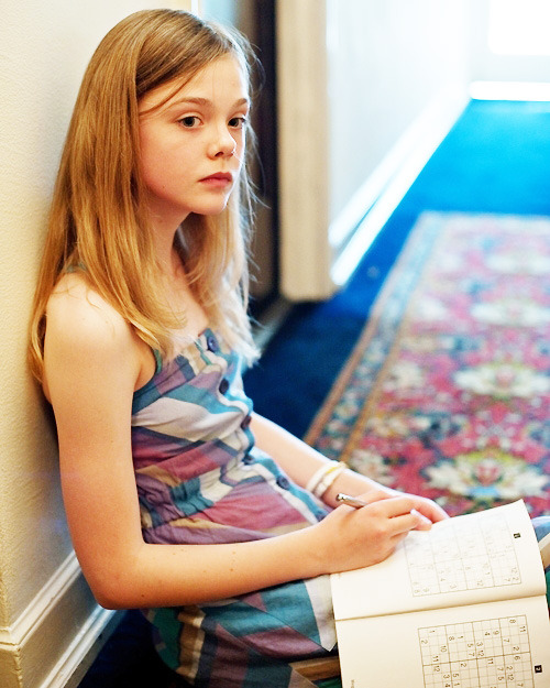 iseefilm:  Elle Fanning in Somewhere (2010)