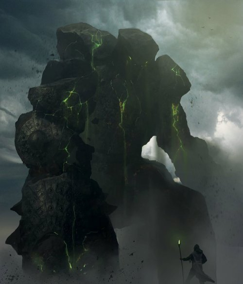 simonweaner:  Earth Golem by ~leopardsnow