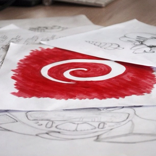 Our Designers' desks are always messy with sketches #design #appricot #appidemia #sketches (Taken with Instagram at Appricot HQ)