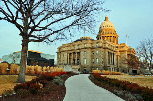 Idaho State Capitol  by Vivek Tulsidas on Flickr.