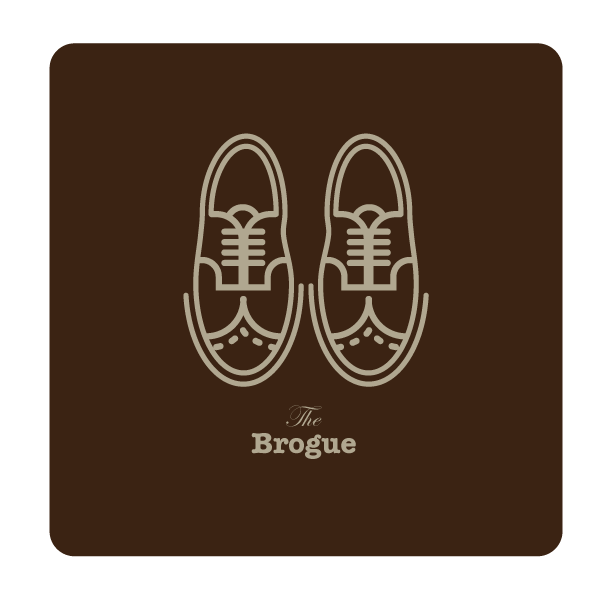 "The Mens Collection  |  Sole BrotherThe new vectored icon illustrations from Torso Vertical.Today shoe being:""The Brogue""   WWW.TORSOVERTICAL.COM twitter 