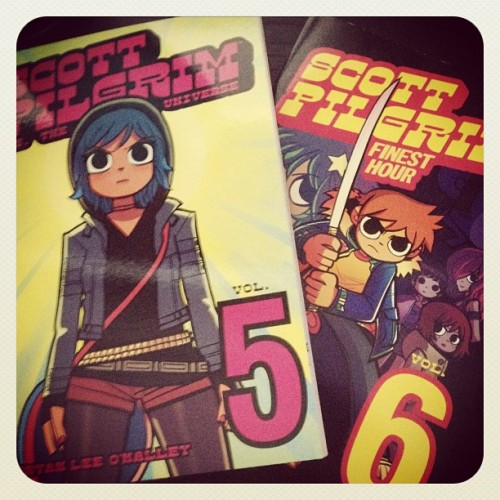 slyfoxhound:  I'll be reading these on my plane ride fuck yeah (Taken with Instagram)