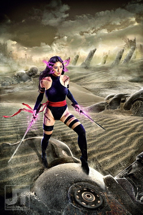 cosplay-paradise:  Jinri Park as Psylocke (X-men) http://cosplay-paradise.tumblr.com