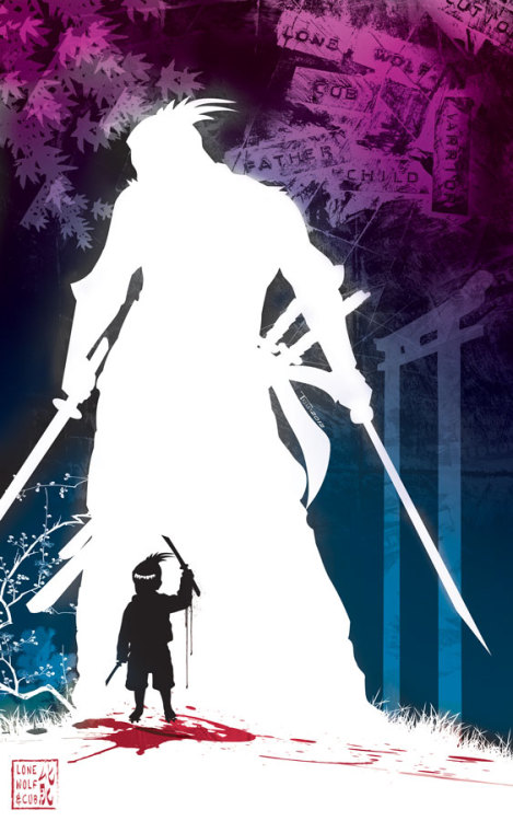lulubonanza:  Lone wolf and cub by *TomKellyART