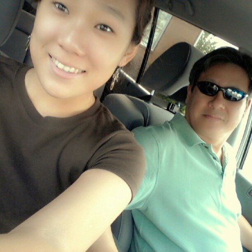 Goin to school with pappa hong (Taken with Instagram)