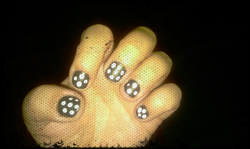 Polka Dotted Nails … my secret is out, I <3 Polka Dots.