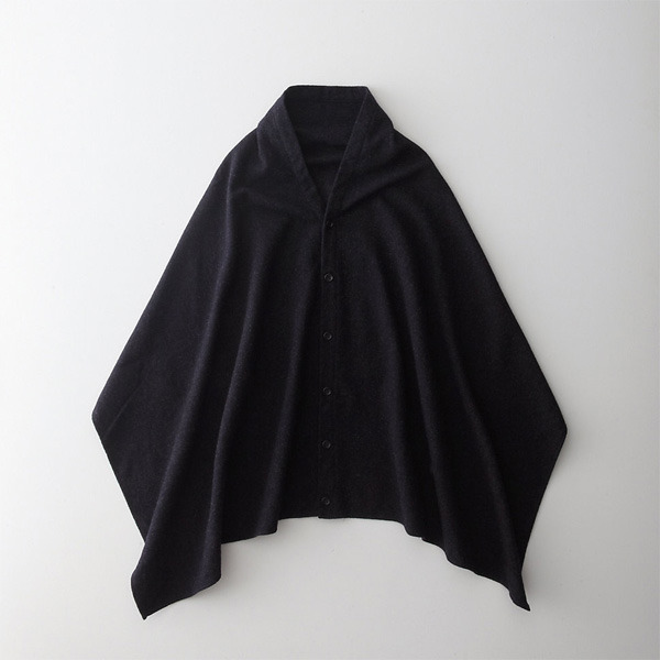 Engineered Garments button shawl at Steven Alan.