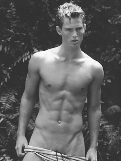 Chad Buchanan by Bruce Weber.