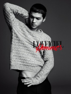 Teen Top's Leader, CAP for L'officiel Homme.