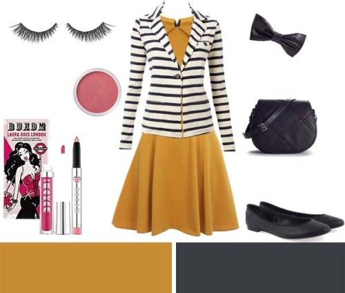 stripe wear (via Fashion Designer -)