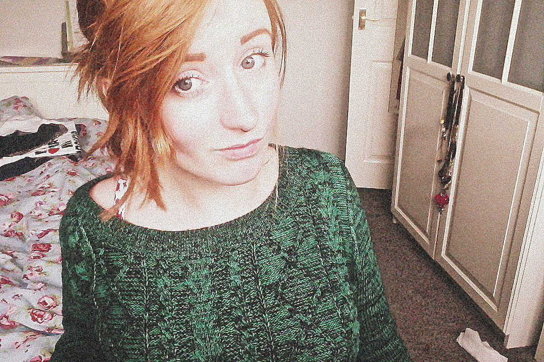 I got a green jumper yesterday, if you know me you will know thats a BIG THING.