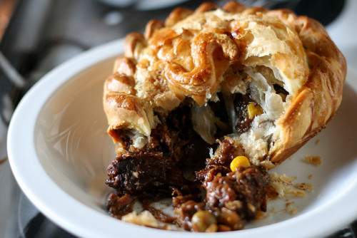 clottedcreamscone:  Steak pie at a cafe in Pirongia by Jaime Carter on Flickr.  FUUUUUUUUUUUUUUUUUUUUUCK
