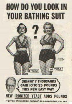 fashion curves beaches body positive ads