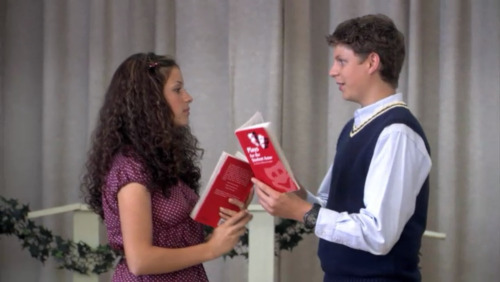 Maeby Funke & George Michael Bluth of Arrested Development reading Much Ado About Nothing by William Shakespeare