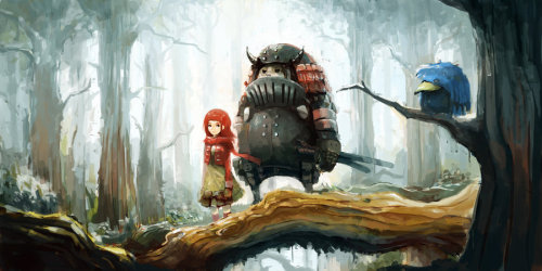 Daily Deviation 08.22.12  Walking in The Forest by *alchemaniac