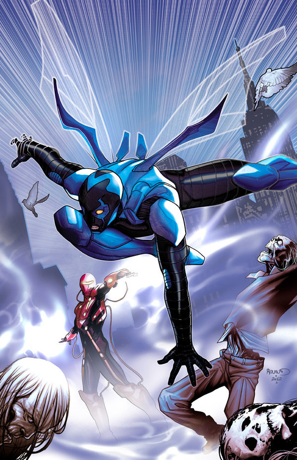 Blue Beetle, por Paul Renaud