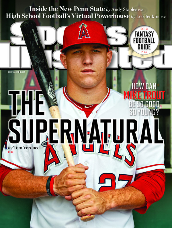 Mike Trout is 'The Supernatural.' That is all…