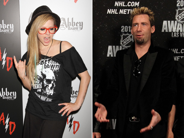 Okay, let's hear it.  What are your best Avril Lavigne / Chad Kroeger from Nickleback marriage jokes?