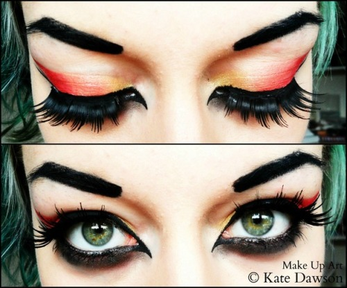 7 Sins - Wrath Make Up