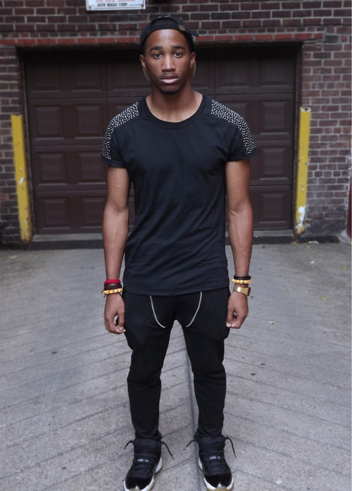 blackfashion:  Pierre 20 NYChttp://deycallmetrey.tumblr.com
