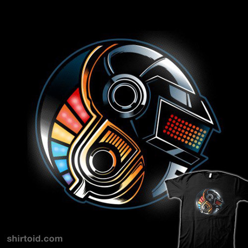 shirtoid:  Daft Yin-Yang available at RedBubble