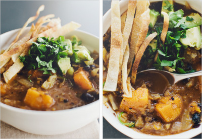 graceinplace:  fall soup, perfected. [black bean + butternut soup]  oh good lord hold me
